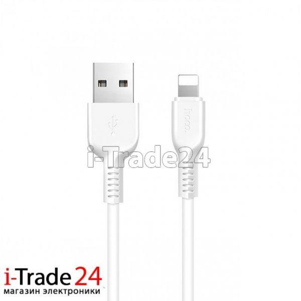 Дата-кабель Hoco X13 Lightning, 3 метра