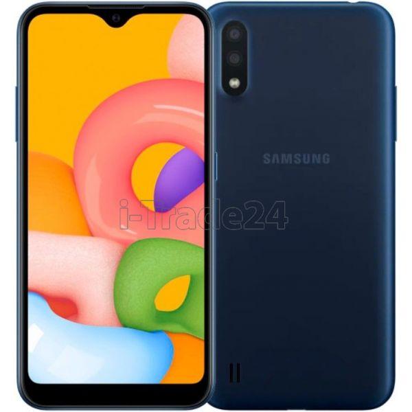 Смартфон Samsung Galaxy M01 Синий (Blue)