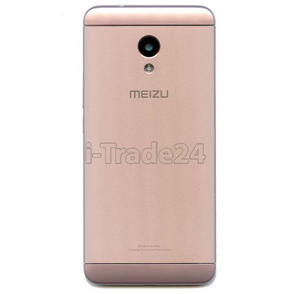 Задняя крышка для Meizu M5s розовая