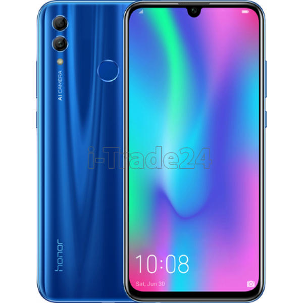 Смартфон Honor 10 Lite 3/64GB Dual LTE (sapphire blue/синий)