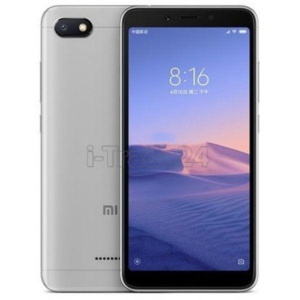 Xiaomi Redmi 6A 16Gb+2Gb Dual LTE (grey/серебристый) Global Version