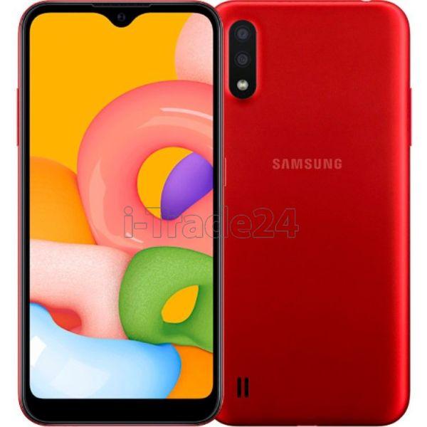 Смартфон Samsung Galaxy M01 Красный (Red)
