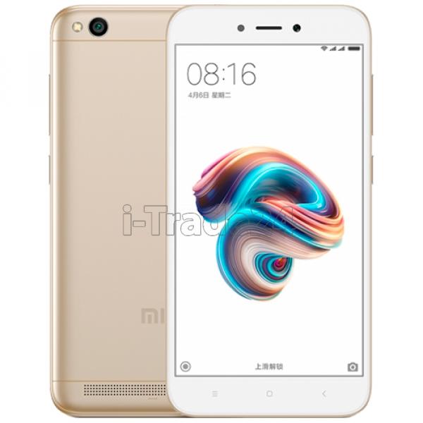 Xiaomi Redmi 5A 16Gb+2Gb Dual LTE (gold/золотой) Global Version