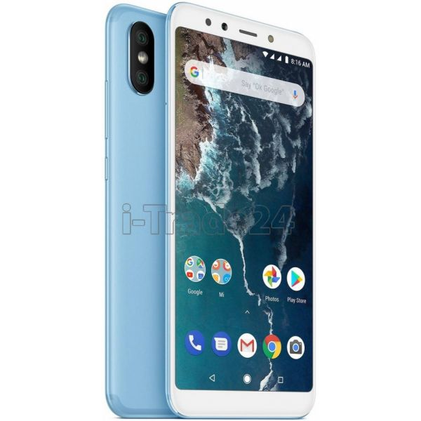 Xiaomi Mi A2 6/128GB Dual LTE (blue/голубой) Global Version