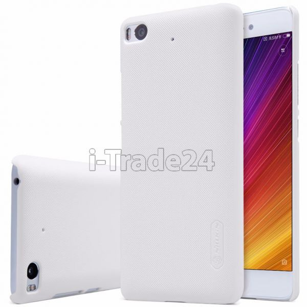 Накладка Nillkin Frosted Shield для Xiaomi Mi5S белый пластик