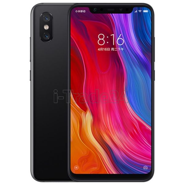 Xiaomi Mi8 6/64Gb Dual LTE (black/черный)