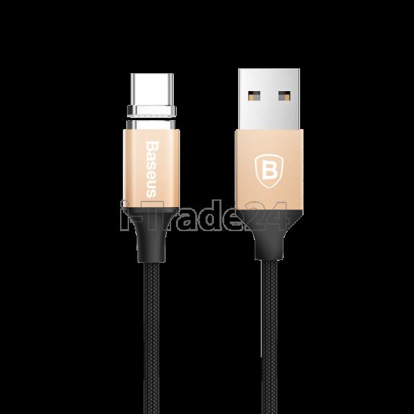 Магнитный кабель USB Type-C Baseus New insnap series magnetic cable 1m