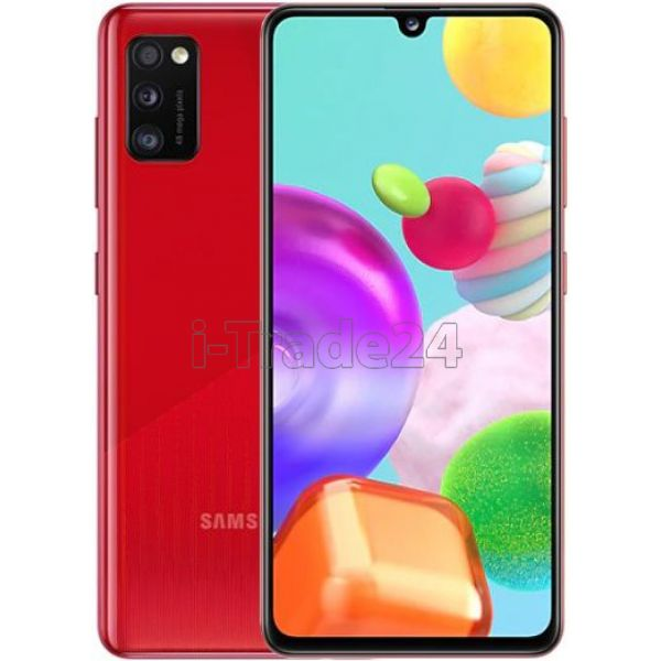 Смартфон Samsung Galaxy A41 64GB (Red/Красный)