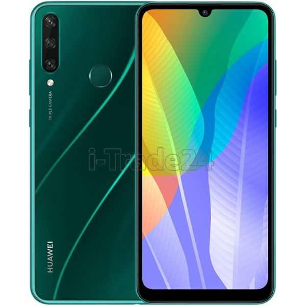 Смартфон HUAWEI Y6p 3/64GB (NFC) Изумрудно-зеленый