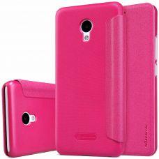 Чехол-книжка Nillkin Sparkle Series  для Meizu M5 розовый
