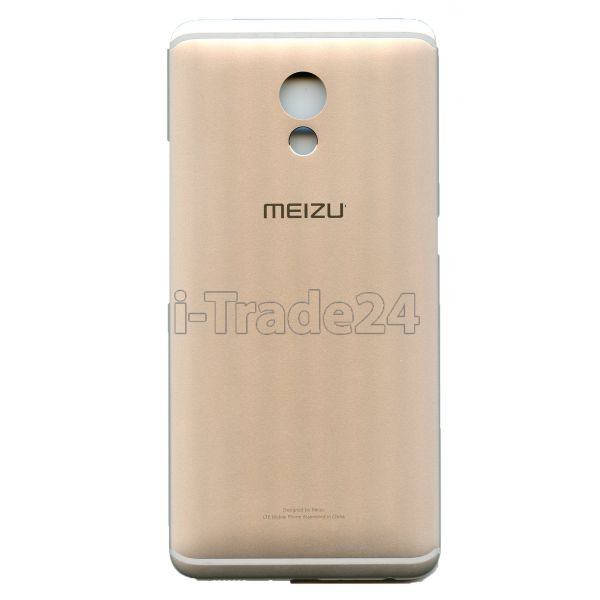 Задняя крышка для Meizu Pro 6 Plus серебро