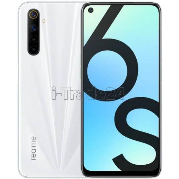 Смартфон realme 6S 6/128GB White/Белый