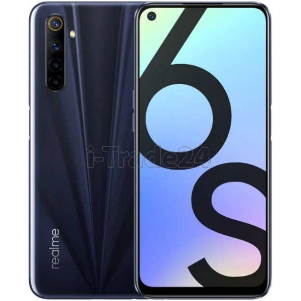 Смартфон realme 6S 6/128GB Black/Черный