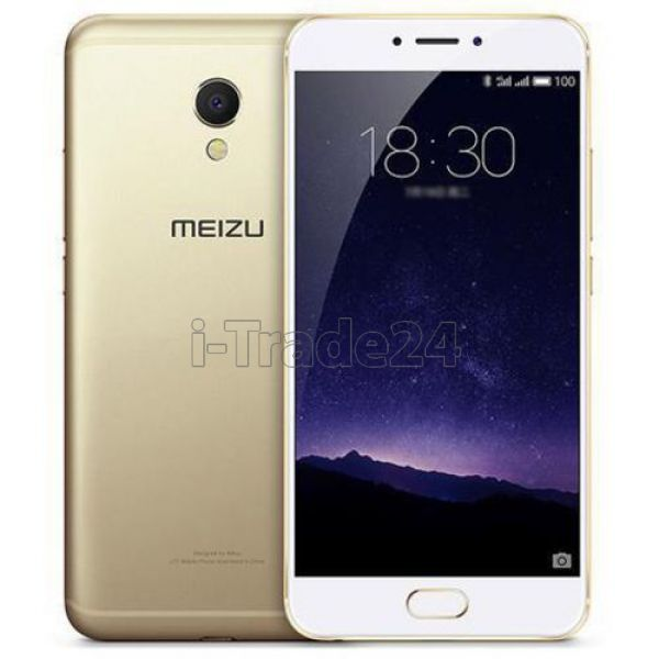 Meizu MX6 32Gb+3Gb Dual LTE (gold/золотой)