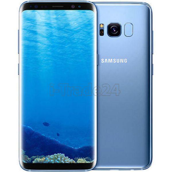 Samsung Galaxy S8 Plus 64Gb+4Gb Dual LTE (coral blue/синий коралл)