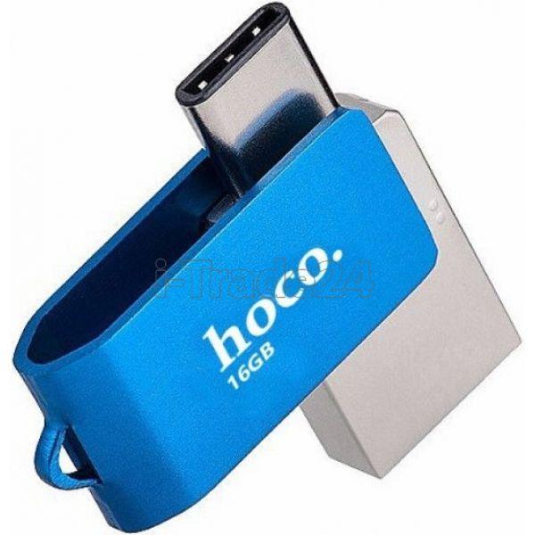 Флешка Hoco UD3 32Gb Синий