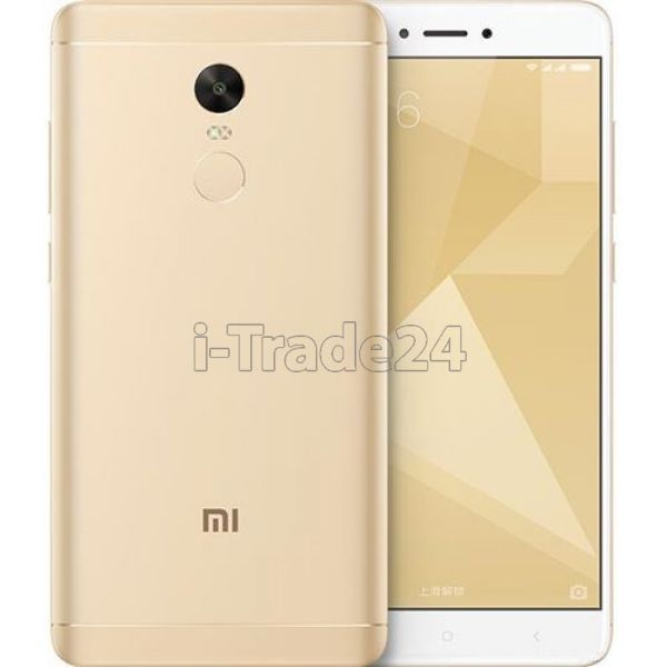 Xiaomi Redmi Note 4X 32Gb+3Gb Dual LTE (gold/золотой)