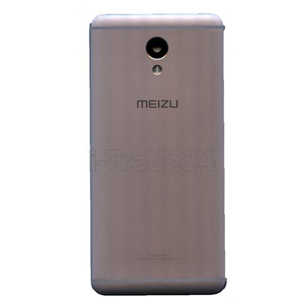 Задняя крышка для Meizu M5 Note серебро