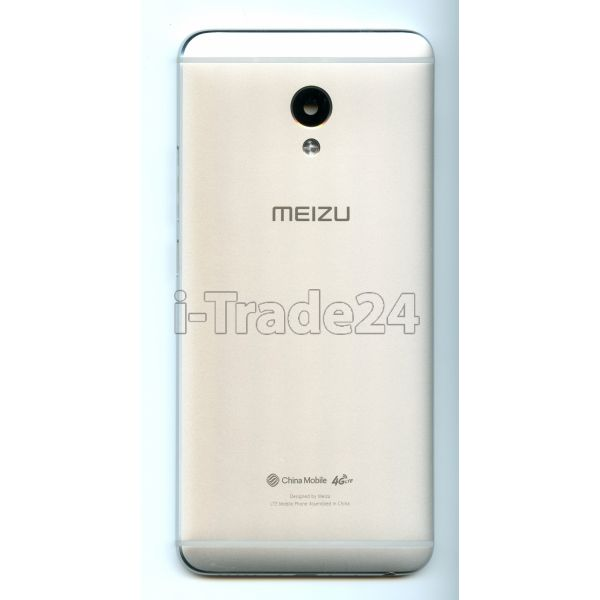 Задняя крышка для Meizu M3E серебро