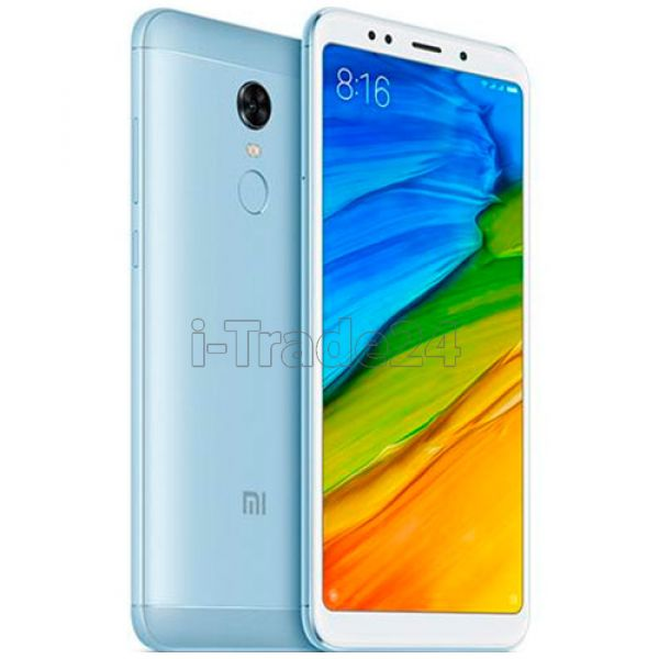 Xiaomi Redmi 5 Plus 32Gb+3Gb Dual LTE (blue/голубой) Global Version