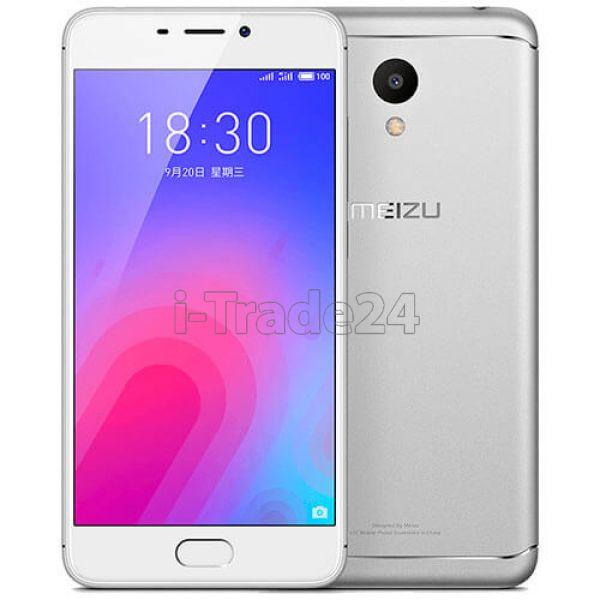 Meizu M6 16Gb+2Gb Dual LTE (Silver/Серебристый) EU Spec