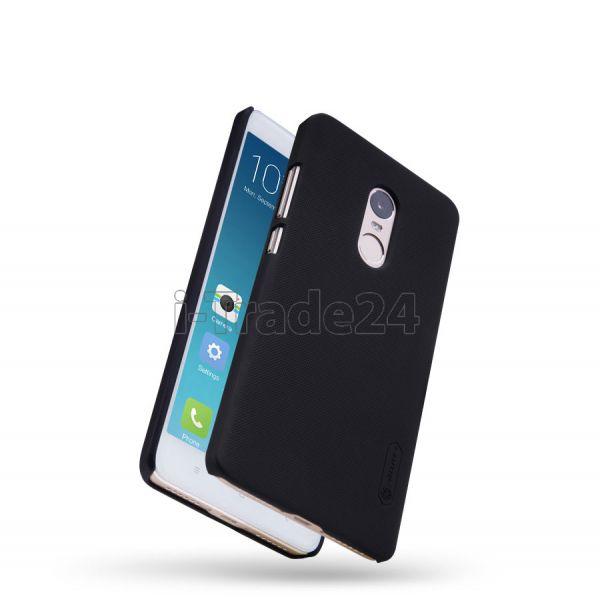 Чехол-накладка Nillkin Frosted Shield для Xiaomi RedMi Note 4 (black/черный)