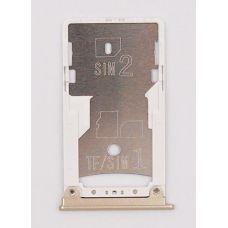 SIM лоток Xiaomi Mi Max 2 золотой