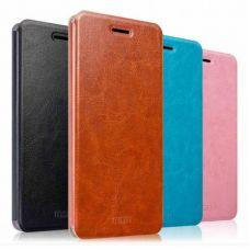 Чехол-книжка боковой флип MOFI для Xiaomi RedMi Note 3 Pro коричневый
