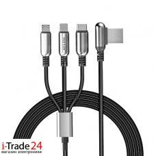 Универсальный дата-кабель Hoco U17 3 в 1