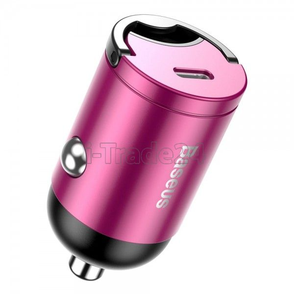 Автомобильная зарядка Baseus Tiny Star Mini PPS Car Charge Type-C Port 30W Pink