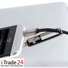 Дата-кабель Remax DATALINE TRANSFORMERS Micro USB + Lightning
