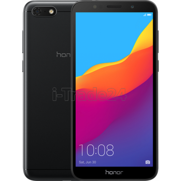 Смартфон Honor 7A 2/16GB Dual LTE (black/черный)