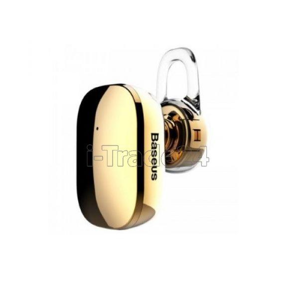 Наушники Baseus Encok A02 In-ear Finger Touch Plated Single Mini Bluetooth Earbud Yellow