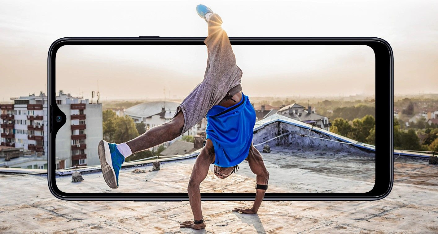Samsung Galaxy A20s дисплей смартфона