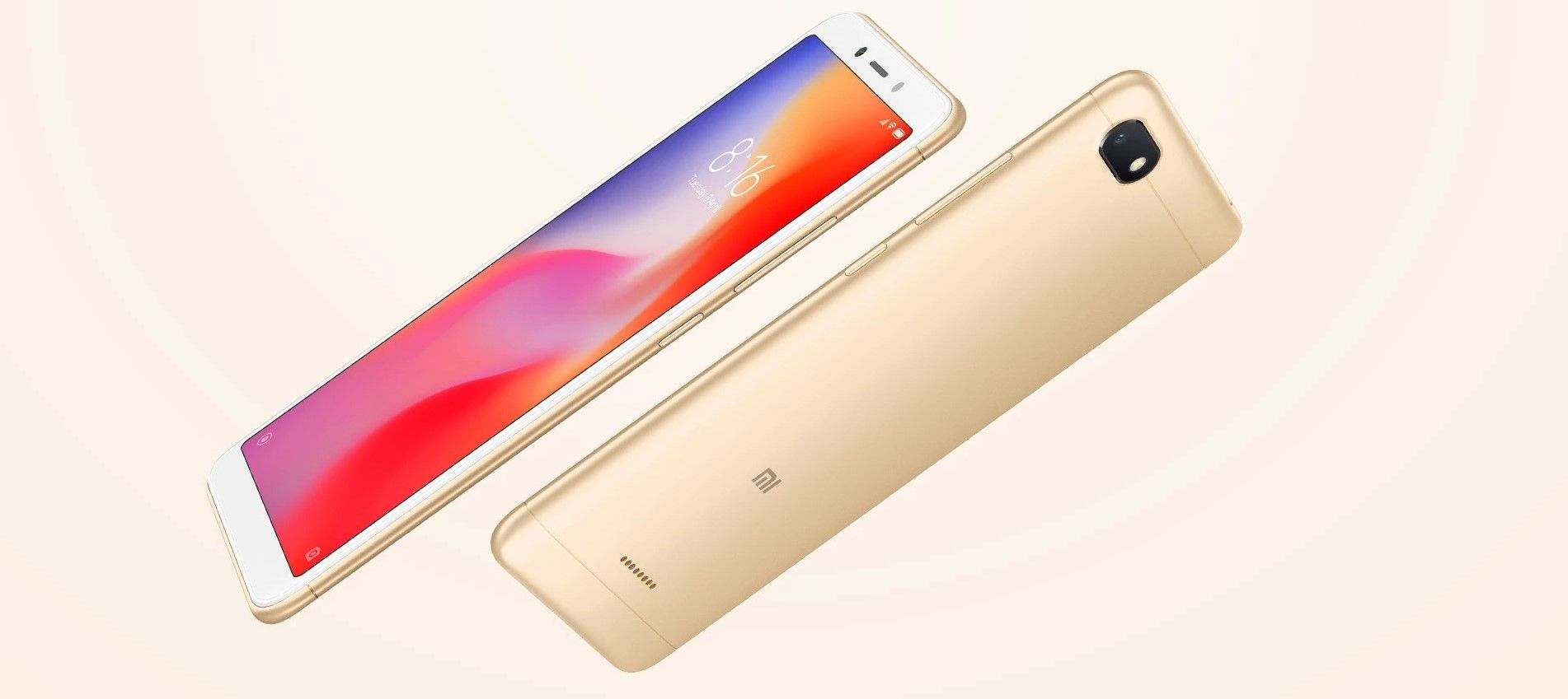 Xiaomi Redmi 6A дизайн смартфона